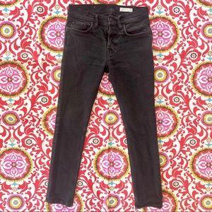 All Saints Cigarette Vintage Black Skinny Jeans